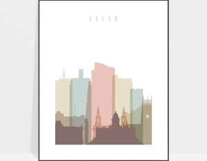 Leeds UK poster