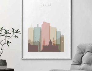 Leeds UK poster second