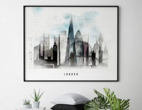 London skyline landscape urban second
