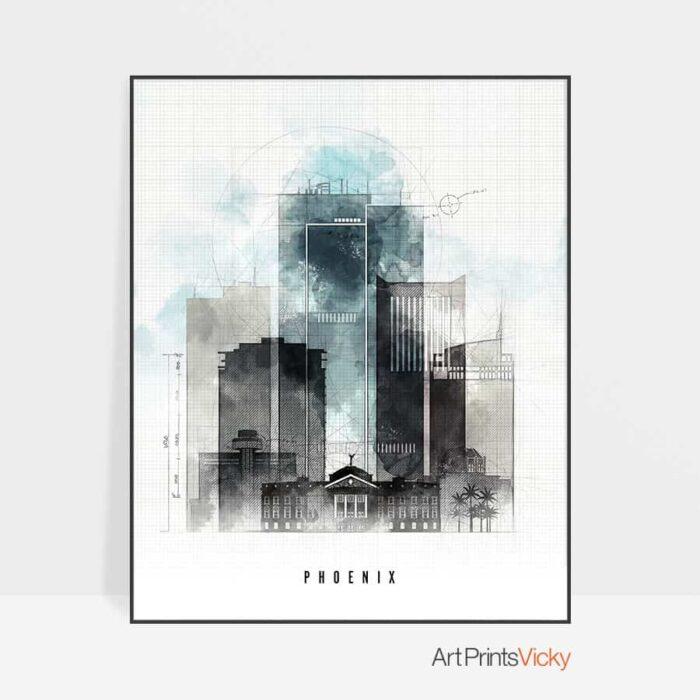 Phoenix poster urban