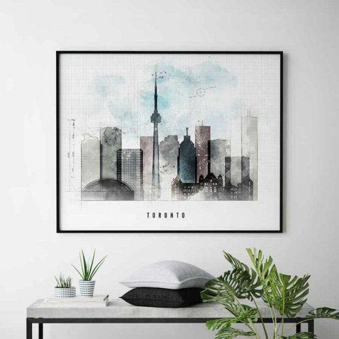 Toronto skyline landscape urban second