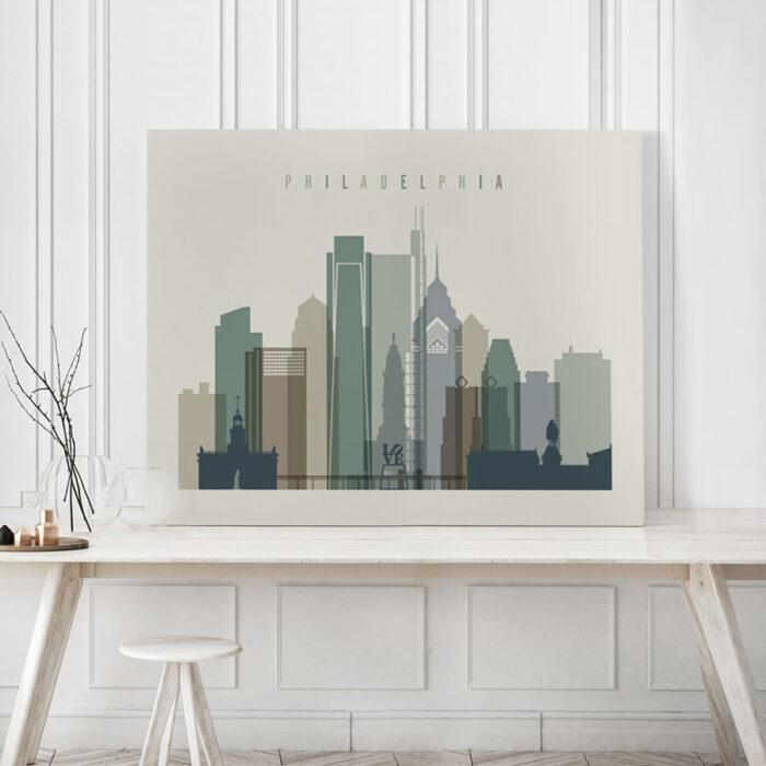 canvas skyline poster landscape 5 photo