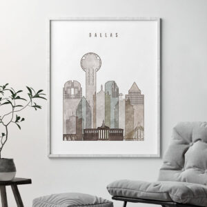 dallas drawing poster second photo