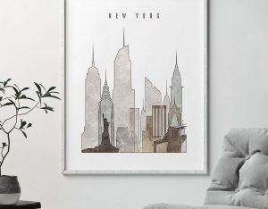 new york drawing poster second photo
