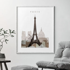 paris drawing poster second photo