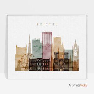 Bristol watercolor 1 poster