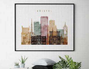 Bristol watercolor 1 poster second