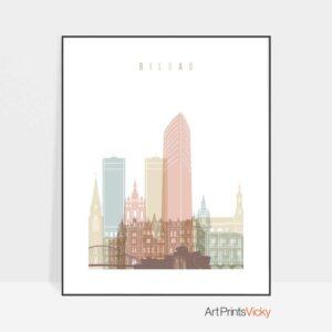 bilbao-skyline-poster-pastel-white