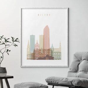 bilbao-skyline-poster-pastel-white-second