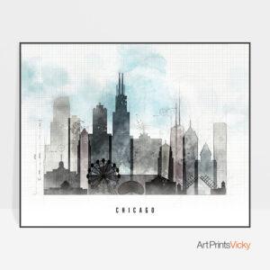 chicago-print-urban-landscape