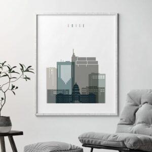 boise-art-print-skyline-earth-tones-4-second