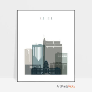 boise-art-print-skyline-earth-tones-4