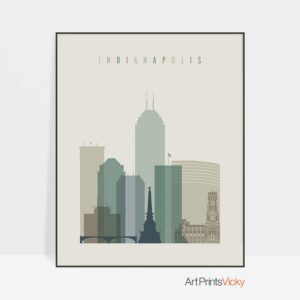 indianapolis-print-skyline-earth-tones-1