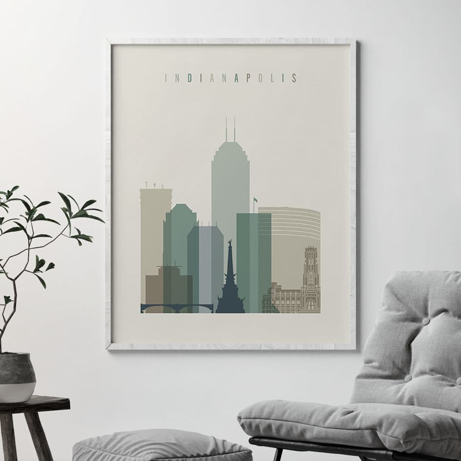 indianapolis-print-skyline-earth-tones-1-second