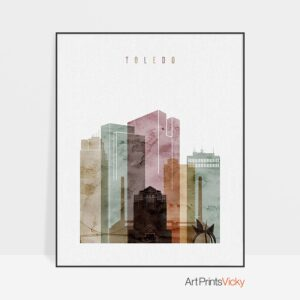 toledo-skyline-print-watercolor-1