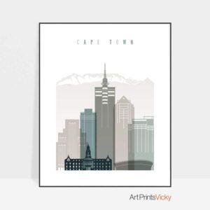 cape-town-art-print-skyline-earth-tones-4