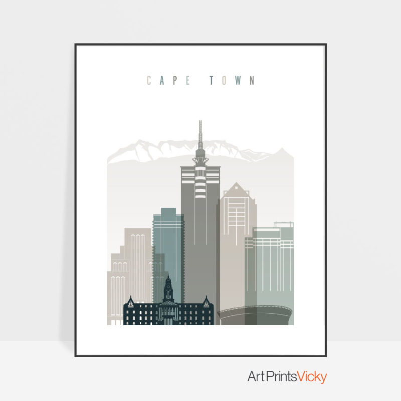 cape-town-art-print-skyline-earth-tones-4
