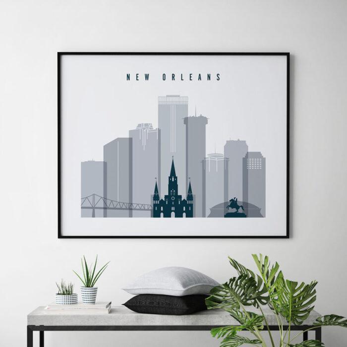 new-orleans-skyline-art-grey-blue-landscape-second