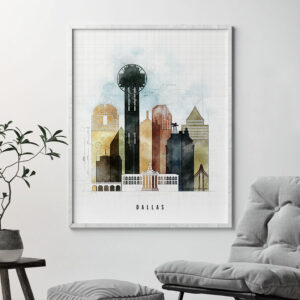 Dallas print urban 2 photo second