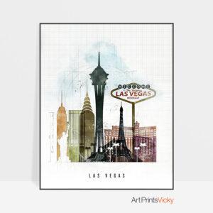 Las Vegas print urban 2