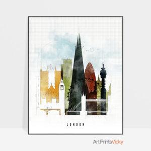 London print urban 2