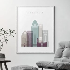 Louisville poster pastel 2 second