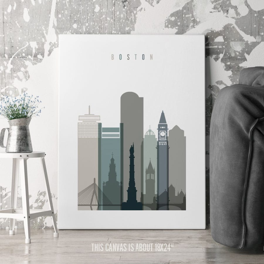 Boston Canvas Earth Tones 4 second