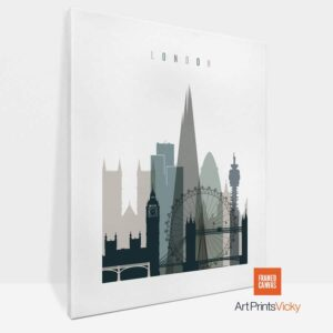 London Canvas Earth Tones 4