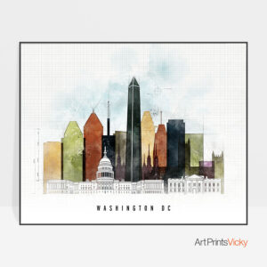 Washington Dc Poster Landscape Urban 2 photo by ArtPrintsVicky