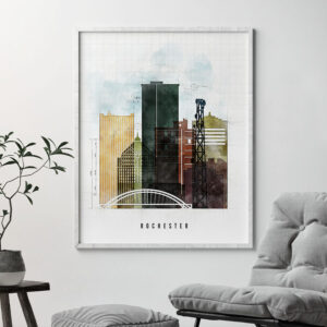 Rochester Ny Print Urban 2 Second