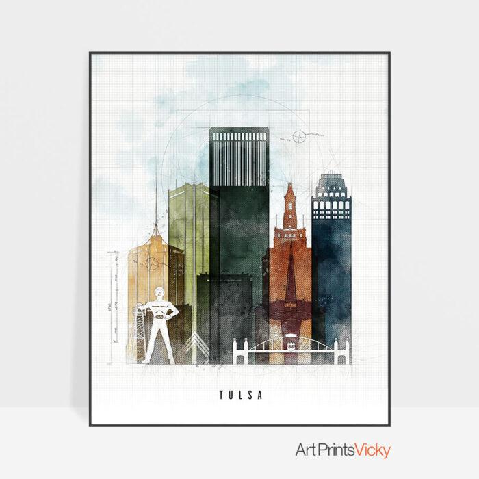 Tulsa Print Urban 2
