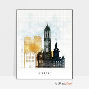 Utrecht City Print Urban 2