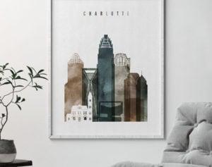 Charlotte art print watercolor 2 second