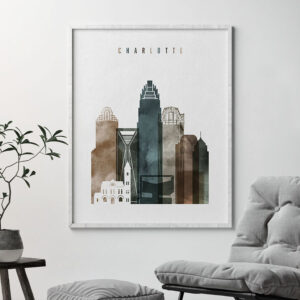 Charlotte art print watercolor 2 second
