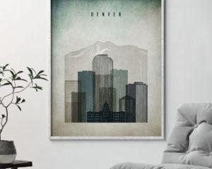Denver poster distressed 3 second