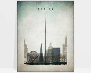 Dublin poster distressed 3