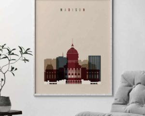 Madison poster earth tones 2 second