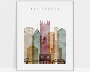 Pittsburgh poster 2 watercolor 1
