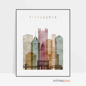 Pittsburgh poster 2 watercolor 1