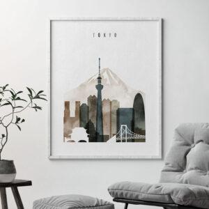 Tokyo print watercolor 2 second