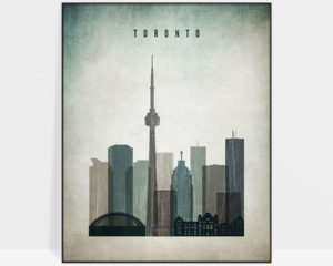 Toronto poster distressed 3