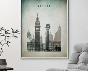 Venice poster distressed 3 second