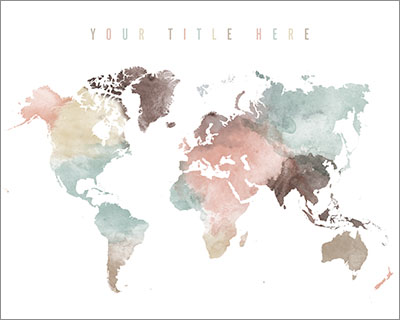 Your custom pastel title map